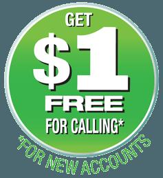 get $1 free to make international calls