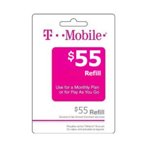 T-Mobile Wireless Prepaid Phone Card