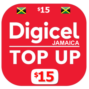 $15 Digicel Jamaica top up