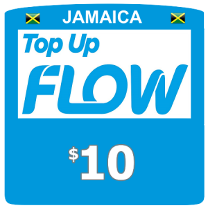 $10 Flow (Lime) top up
