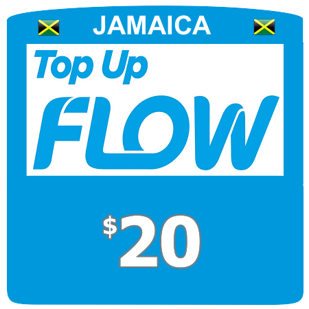 $20 Flow (Lime) top up