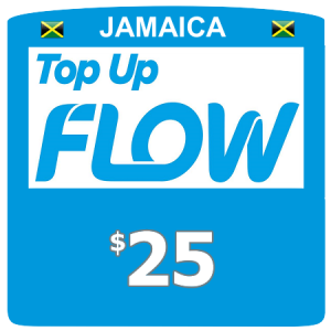 $25 Flow (Lime) top up