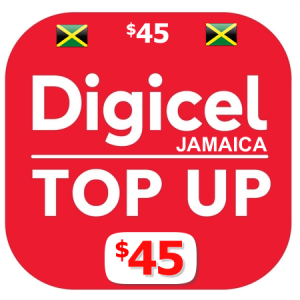 $45 Digicel Jamaica top up