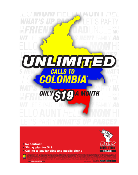 boss revolution Colombia Unlimited