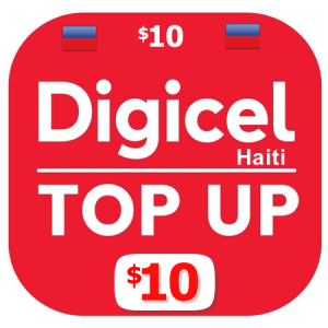 $10 Digicel Haiti top up