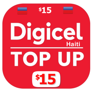 $15 Digicel Haiti top up