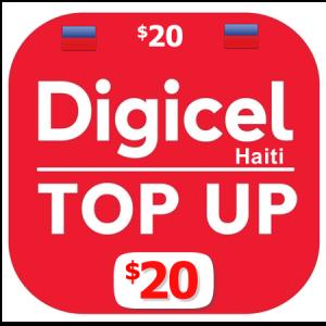 $20 Digicel Haiti