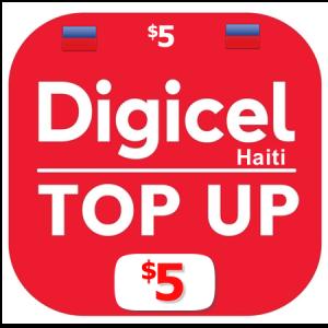 $5 Digicel Haiti