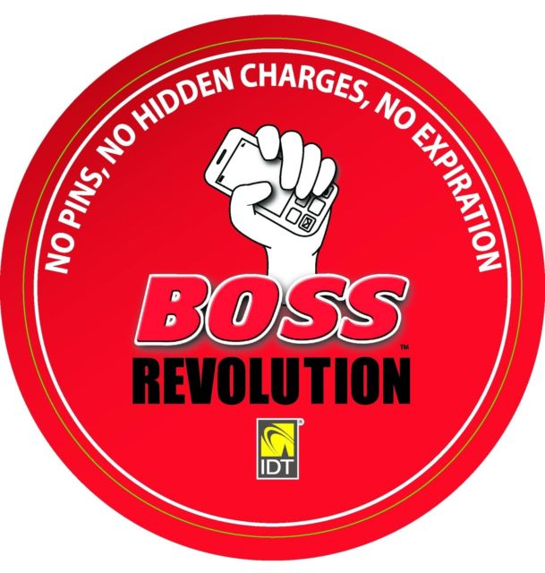 BOSS Revolution calling cards