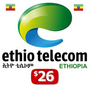 $26 Ethio Telecom Recharge