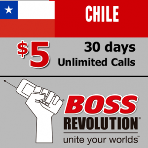 Unlimited calls to Chile Boss Revolution
