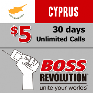 Unlimited calls to Cyprus Boss Revolution