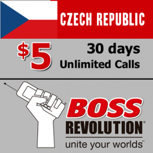 Unlimited calls to Czech Republic Boss Revolution