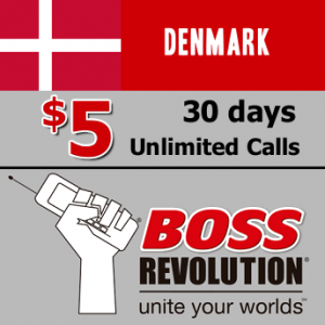 Unlimited calls to Denmark Boss Revolution