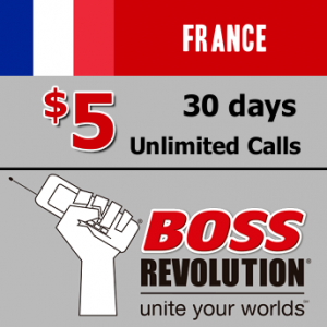Unlimited calls to France Boss Revolution